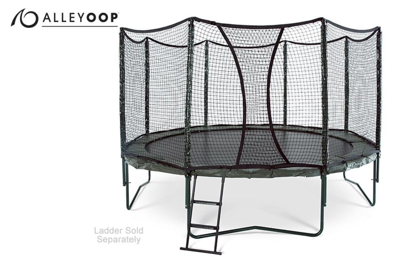 Variablebounce 14 Ft Trampoline With Enclosure