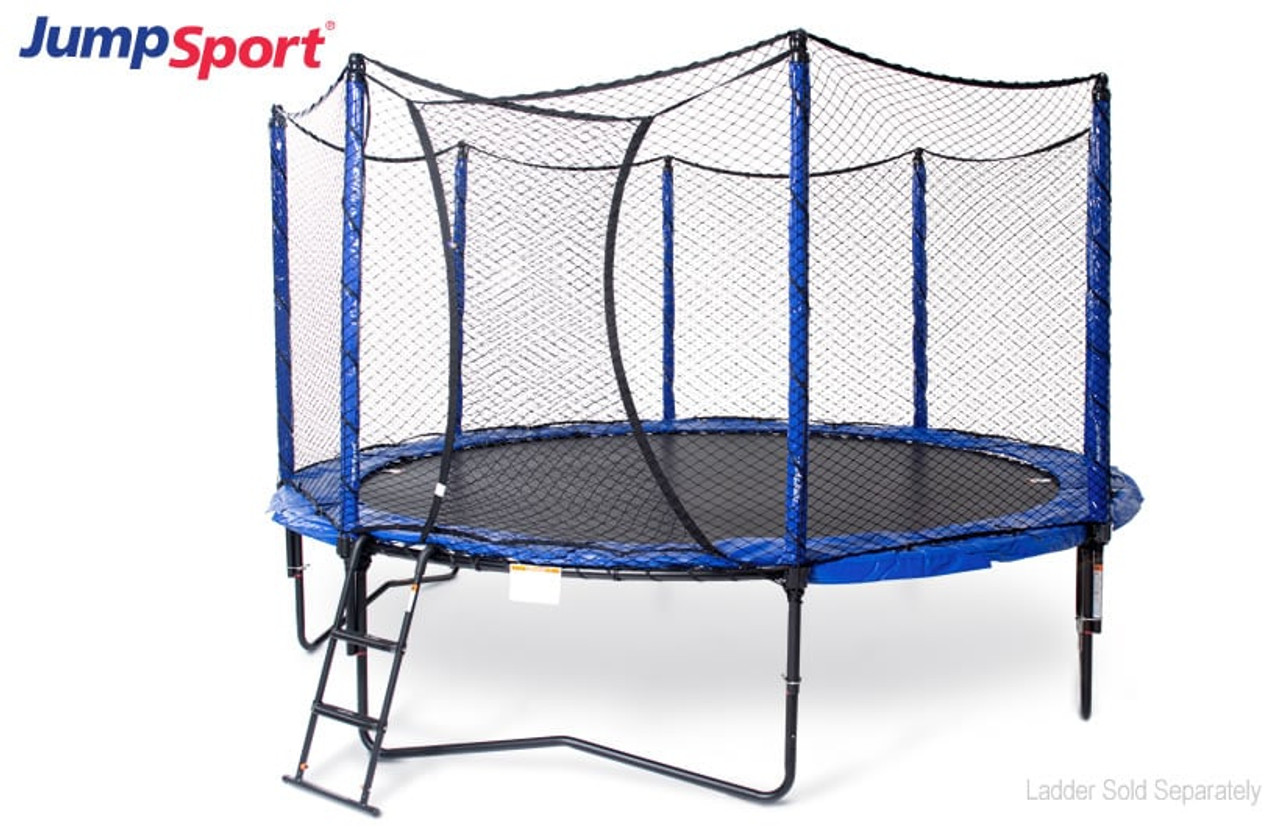 Stagedbounce 14 Ft Trampoline With Enclosure