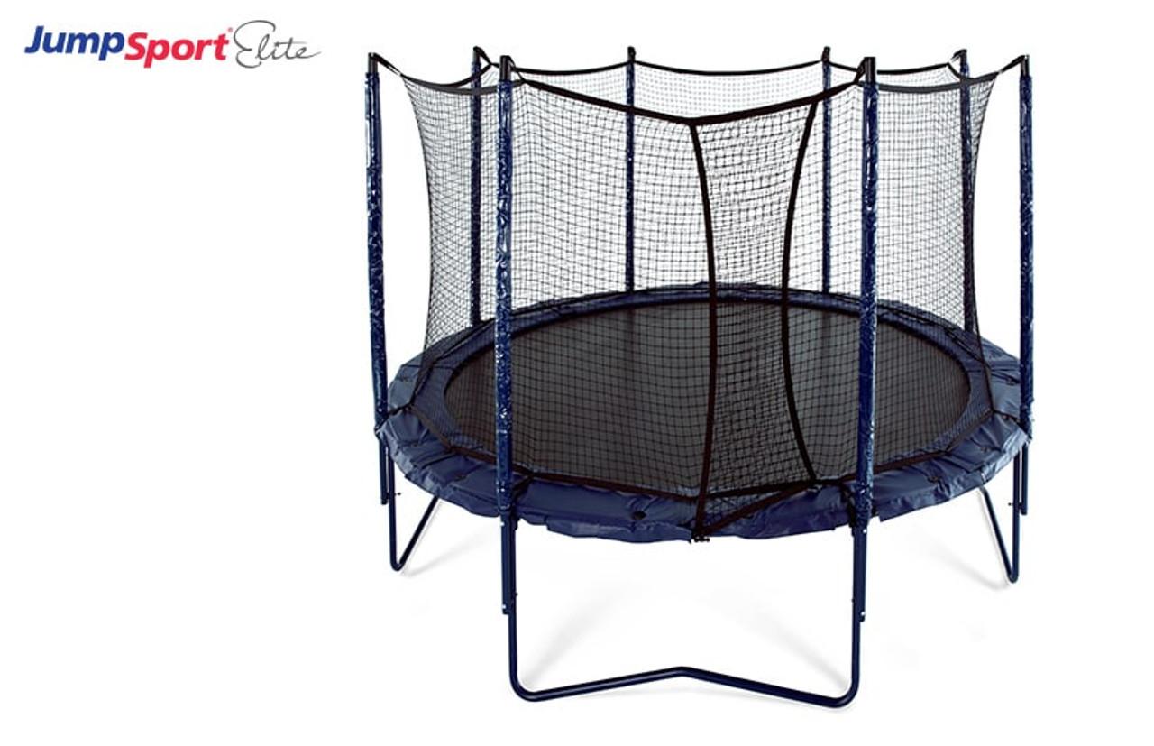 Elite 12 Ft Trampoline With Enclosure