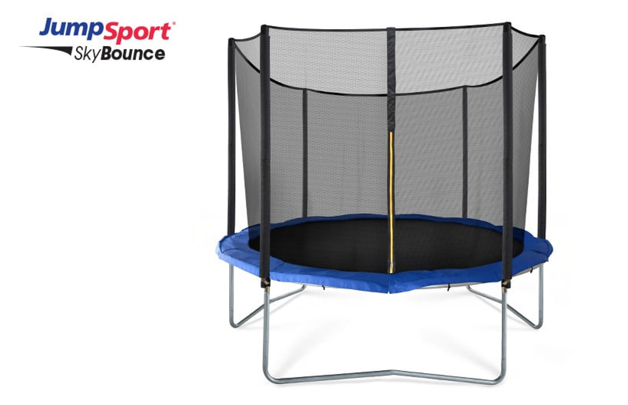 Jumpsport Skybounce 10 Ft Trampoline With Enclosure