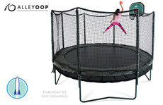 Power DoubleBounce 14' Trampoline with Enclosure