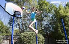 """The Touch Trampoline Basketball •— 7"""""""