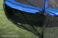Black Mesh Trampoline Safety Skirt