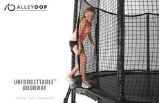 VariableBounce 12' Trampoline with Enclosure