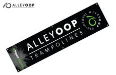 "AlleyOOP Black Tall Banners – 18"" × 72"""