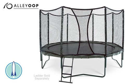 AlleyOOP PowerBounce 14' Trampoline with Enclosure