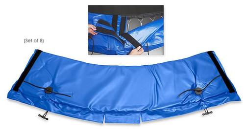 Standard Universal Trampoline Frame Pad •— Blue
