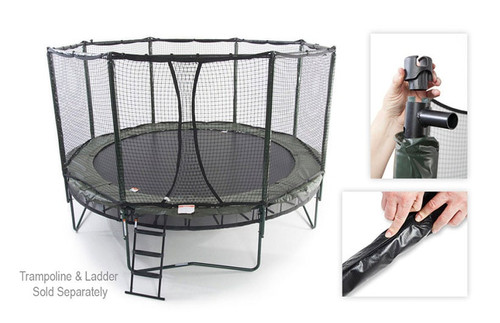 Octagon Trampoline Enclosure Kit