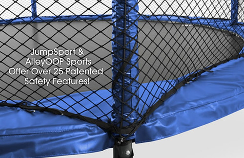 Model 480 Trampoline Safety Enclosure