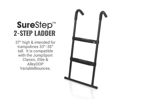 SureStep Trampoline Ladder •— 2 Step