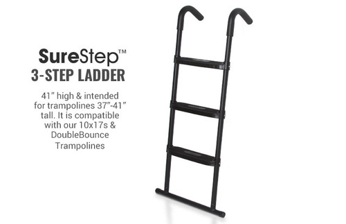 SureStep Trampoline Ladder •— 3 Step