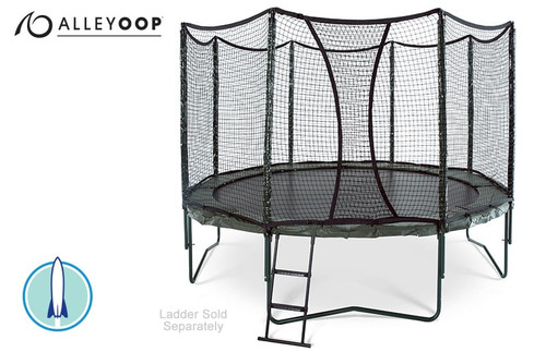AlleyOOP PowerBounce 12' Trampoline with Enclosure