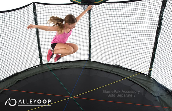 Doublebounce 14 Ft Trampoline With Enclosure
