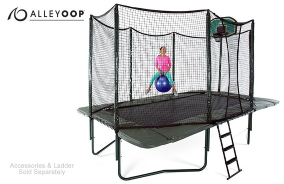 Variablebounce 10 215 17 Ft Rectangular Trampoline With