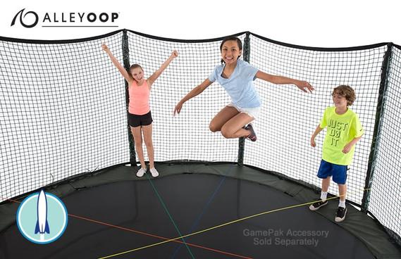 Alleyoop Powerbounce 14 Ft Trampoline With Enclosure