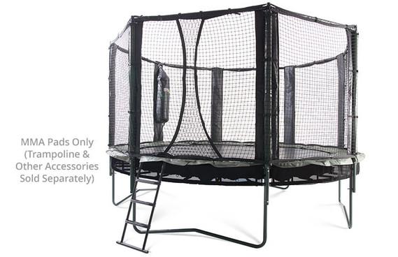 Trampoline Arena Enclosure Pads for Vertical Enclosure Poles