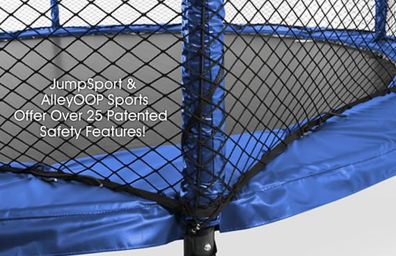 Model 480 Trampoline Safety Enclosure