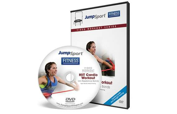 HIIT Cardio Workout Fitness Trampoline Workout DVD