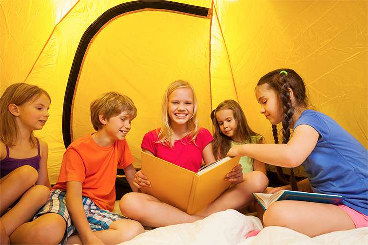 Camping on Your Trampoline?