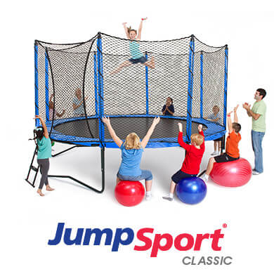 JumpSport Trampoline Install in 45 seconds!