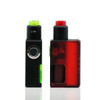 Vandy Vape Pulse Squonk Mod Button View and Side View