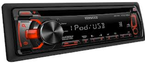 "The Kenwood KDC-155U isn't your run-of-the-mill sub-$100 car stereo receiver. It builds upon the sound foundation of the KDC-105U and adds iPhone Pandora® app support. The KDC-155U offers playback of songs stored on USB thumb drives via the front mounted USB input, it also interfaces with Android smartphones using the free Kenwood Music Control app. Four channels of 22W RMS power are on tap for your speakers, and a set of 2.5V pre-outs with selectable low-pass filter for connection to a subwoofer amplifier. Wireless remote control included. Detachable face security. Supports MP3 and WMA discs.      Integrated iPhone, iPod, and Android Smartphone control     Supports iPhone Pandora app and upgrades users to the Pandora One experience for free     MP3 and WMA disc playback     Front panel 3.5 mm (1/8"") and USB input     Wireless remote control included     22W RMS x 4 amplifier built-in     2.5V preamp output with low-pass filter and subwoofer control"