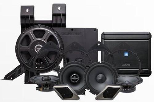 Alpine Sound System for 2007-2013 Chevrolet Silverado & GMC Sierra