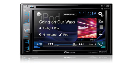 """Pioneer DVD Receiver with 6.2"""" Display"""