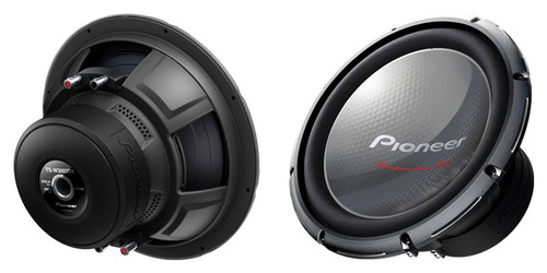 "Pioneer 12"" Champion Series PRO Subwoofer with Dual 4 Ohm Voice Coils"