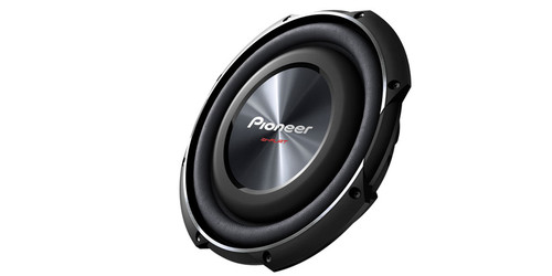 "Pioneer 10"" Shallow-Mount Subwoofer with 1,200 Watts Max. Power"