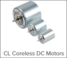 CL family of coreless DC motors