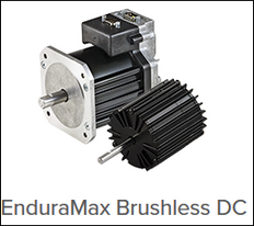EnduraMax™ Brushless Motors with or without integrated drive electronics.