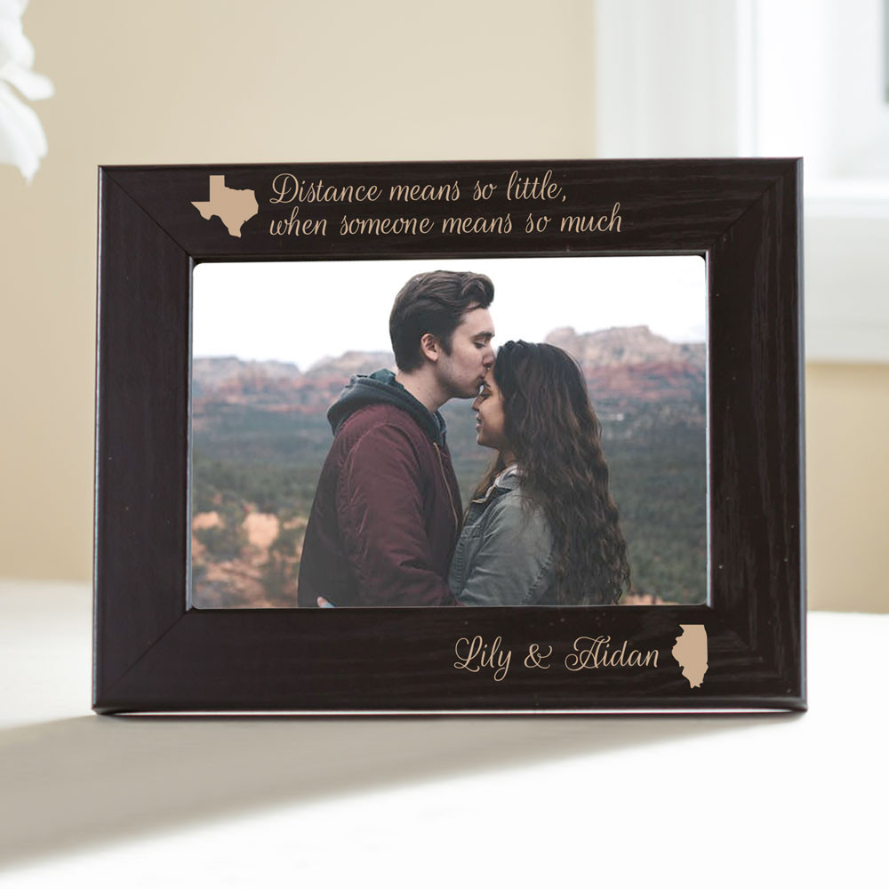 Personalized Long Distance Picture Frame