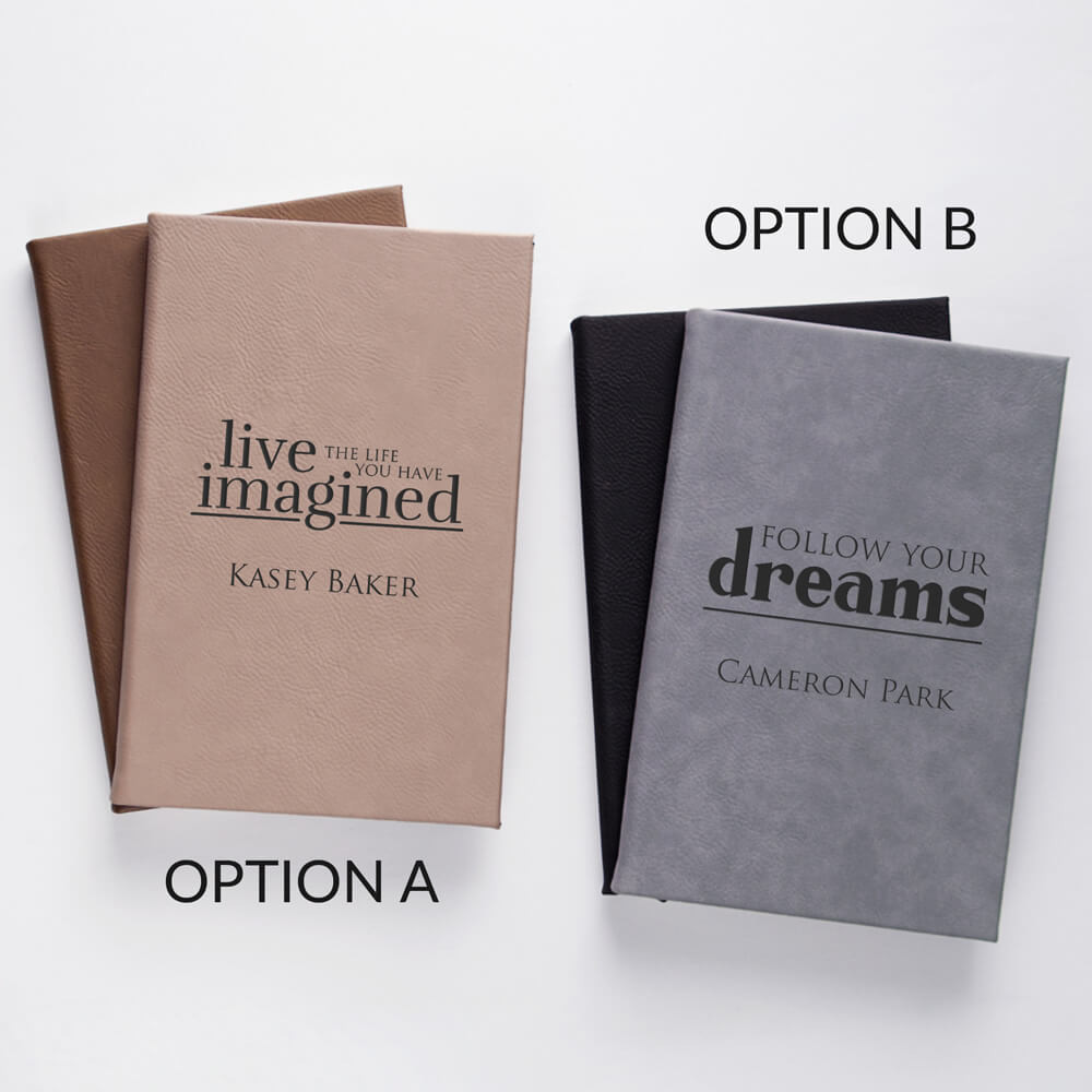 Personalized Inspirational Journal