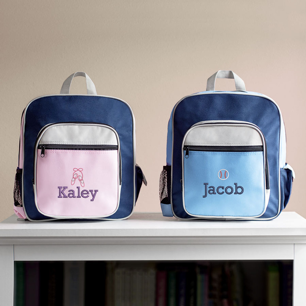 Personalized Kid's Sports Backpacks