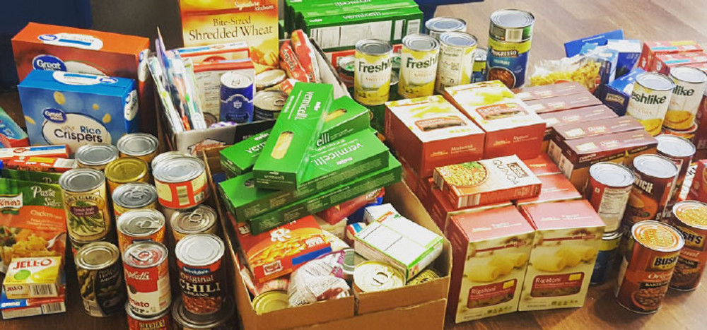 Join us for a Food Drive & Pizza Party on July 25