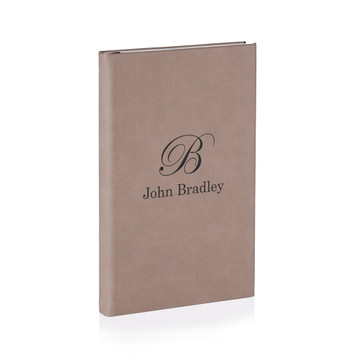 Personalized Journal with Initial and Name