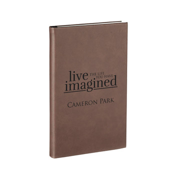 Personalized Dark Brown Graduation Journal