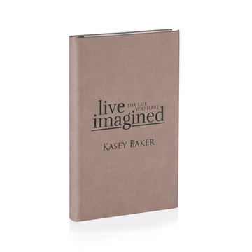 Personalized Light Brown Graduation Journal