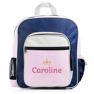 Personalized Kid's Pink Backpack