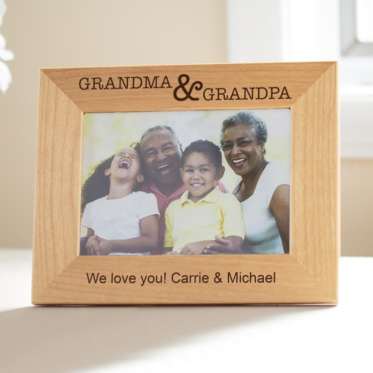 Personalized Grandparents Picture Frame