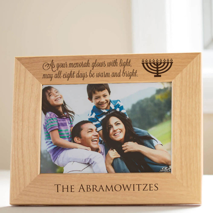 Personalized Hanukkah Picture Frame