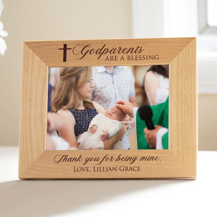 Personalized Godparents Picture Frame
