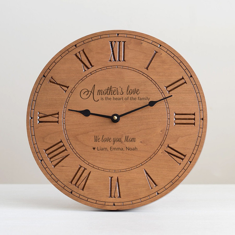 Personalized Mother's Day Clock