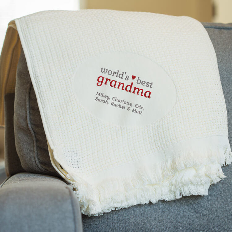 embroidered personalized blankets shop personalized blankets