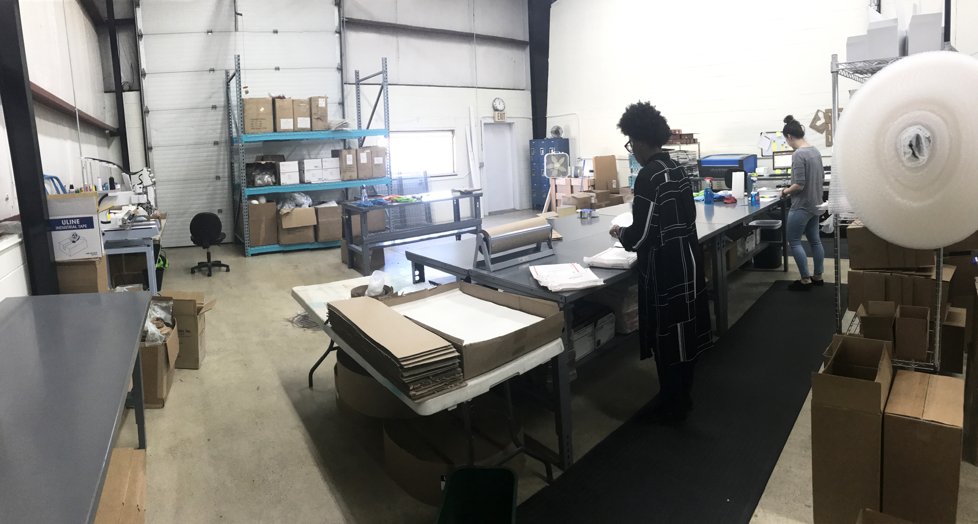 Our production & fulfillment facility in Lansing, IL