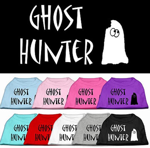Ghost Hunter Halloween Dog Tank Shirt