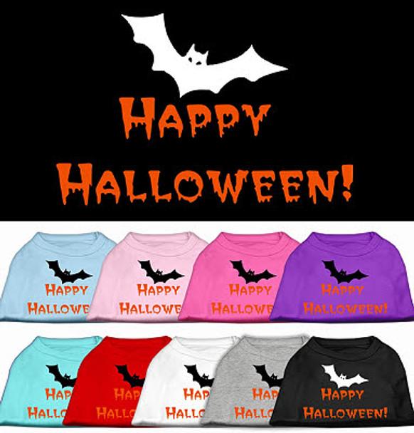 Happy Halloween Dog Tee Shirt