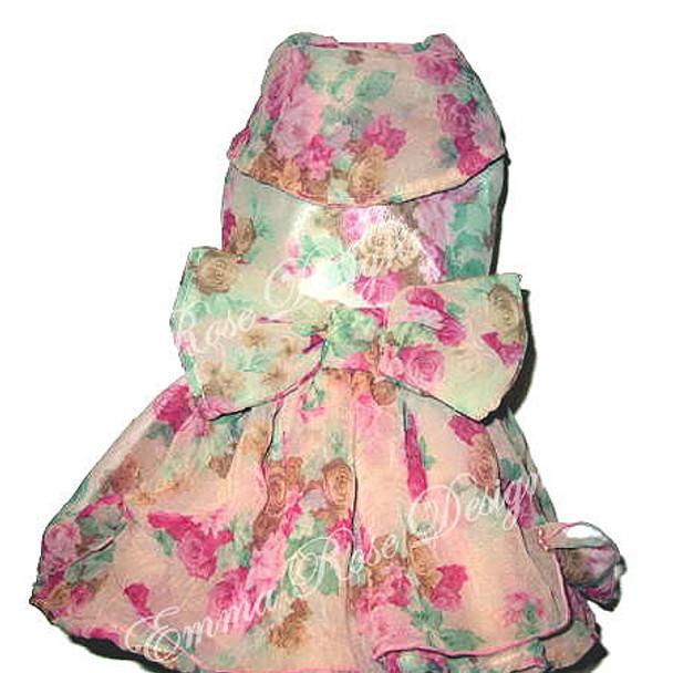 Garden Designer Couture Dog Dress