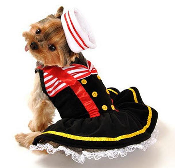 Designer Sweetheart Sailor Dog Costume